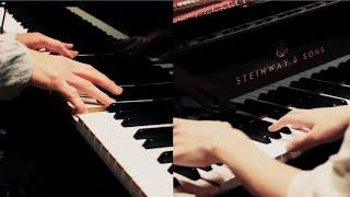 まらしぃです。 H ZETT Mさんと2台ピアノで残酷な天使のテーゼを弾きま...