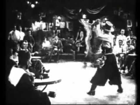 Rudolph Valentino dancing the Tango
