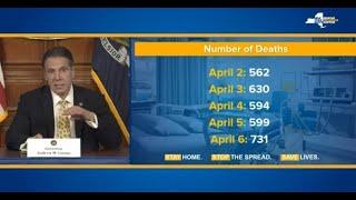 WATCH LIVE: New York Gov. Cuomo holds news conference on coronavirus response