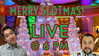 🔴LIVE SLOT MACHINE PLAY 🎄It's The Most Wonderful Day Of The Week! Monday with The Mensez⛄️⛄️