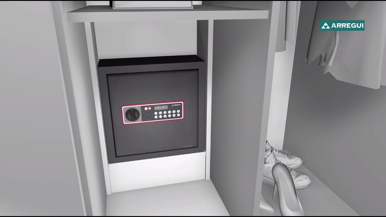 Comment Installer Un Coffre Fort A Cacher Arregui Cover Youtube