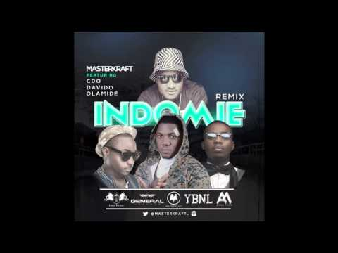 Masterkraft - InDomiE Remix Ft. CDQ x Davido x Olamide (OFFICIAL AUDIO 2015)