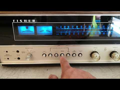 Fisher 434 4/2-Channel Receiver