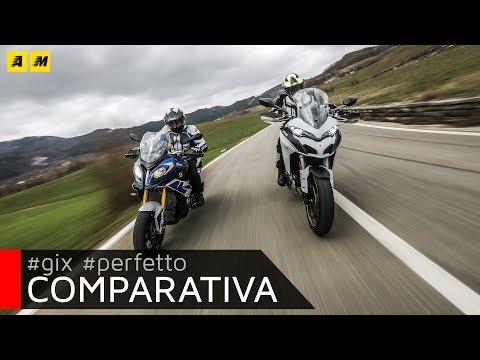 Ducati Multistrada 1260S VS BMW S1000XR 2018: sfida al top! [ENGLISH SUB]