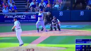 Gonzo Drives in Curtis Granderson Vs Tigers