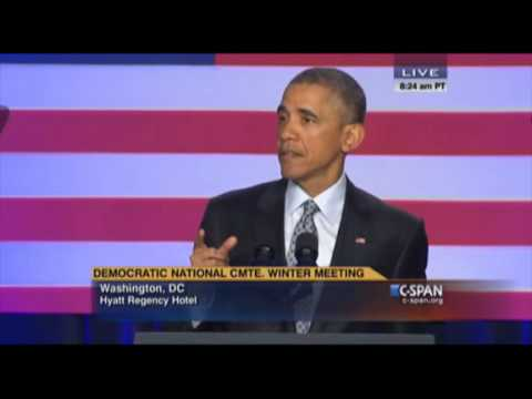 Pres. Obama Speaks at DNC Winter Meeting Feb 20 2015