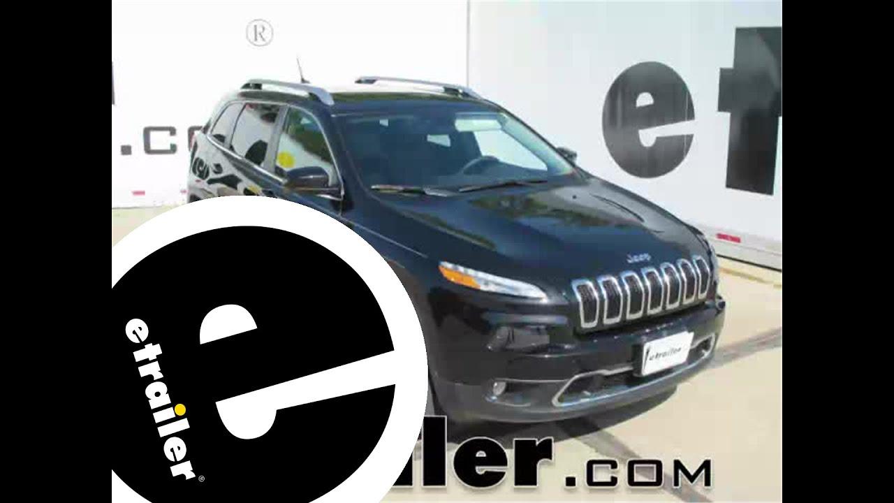 Rubber floor mats jeep cherokee - Review Of The Weathertech All Weather Front Floor Mats On A 2015 Jeep Cherokee Etrailer Com