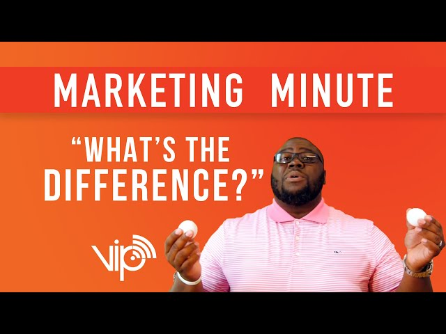 Finding the Difference in Brand Marketing :: Marketing Minutes