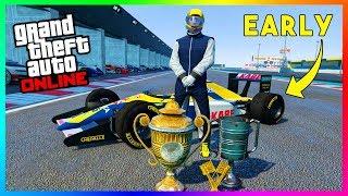 How To Play The Open Wheel Formula 1 Races EARLY In GTA 5 Online! (Progen PR4 & Ocelot R88)
