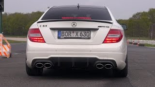 The Most EPIC C63 AMG Exhaust Notes In The World