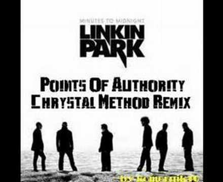 Linkin Park Points Of Authority Chrystal method remix