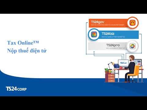TaxOnline – Nộp thuế điện tử | TS24corp