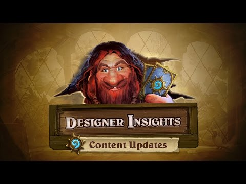 Designer Insights with Ben Brode: Content Updates