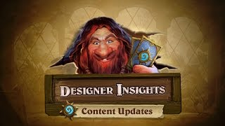 Designer Insights with Ben Brode: Content Updates thumbnail