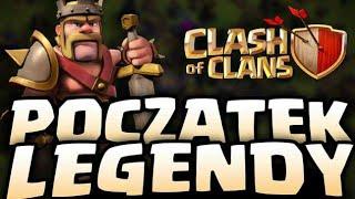 CLASH OF CLANS NOWA SERIA! - CLASH OF CLANS POLSKA