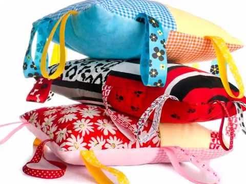 Educollage cojines sensoriales para estimular a tu beb - Cojines para bebes ...