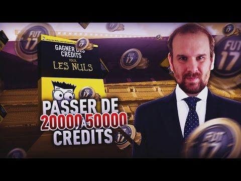 FIFA 17 - DEFI ACHAT REVENTE - PASSER DE 20K A 50K CREDITS !!!