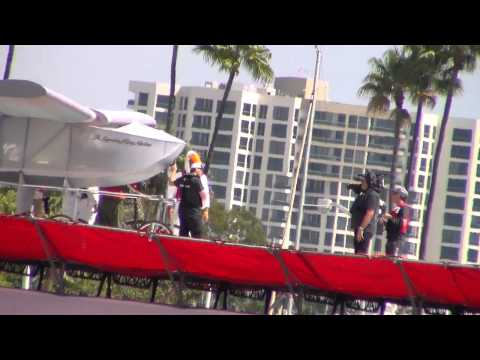 Red Bull Flugtag Long Beach 2013 - Recorded with Samsung HMX-F90 with anti-shake turned on