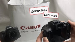 UNBOXING | canon m50 / 캐논 M50 …