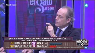 """Eduardo García Serrano: """"Se nota que, en España, el embutido nacional es el chorizo""""."""