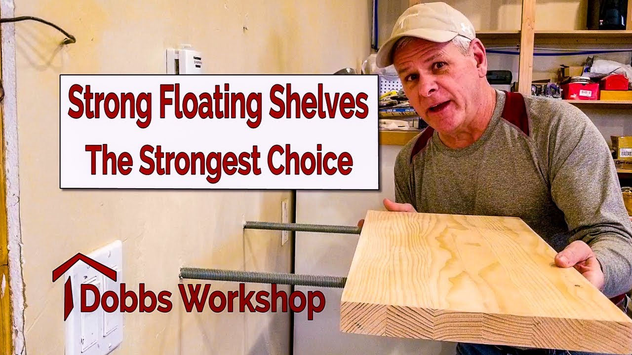 foto de Strong Floating Shelves - The Strongest Option - YouTube