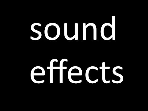 sound effects 62 famous sound effects youtube