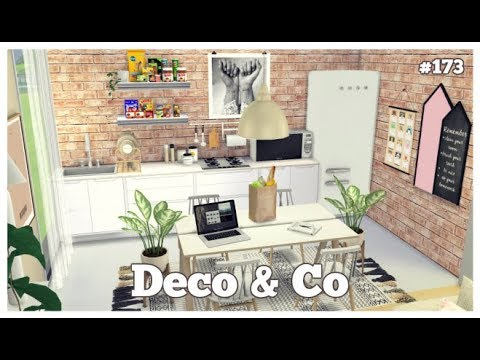 Les Sims 4 | DECO & CO #173 | ONE FLOOR HOUSE
