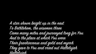 Hallelujah Cloverton lyrics
