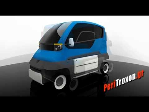 ''PROJECT D3'' The Greek Electric Car For Disabled PeriTroxon.gr