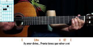 Como Tocar - Como Te Extraño Mi Amor - Leo Dan - Tutorial en Guitarra