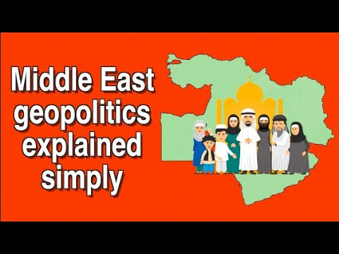 Middle East geopolitics explained simply || The Middle East explained in a nutshell