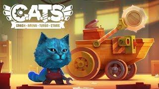 КОТЯТА НА СУПЕР ТАЧКАХ / CATS Crash Arena Turbo Stars / КОТЁНОК ЛАЙК
