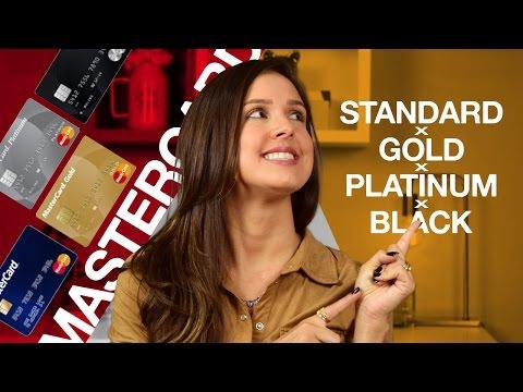 Benefícios Mastercard - cartão de crédito Standard x Gold x Platinum x Black