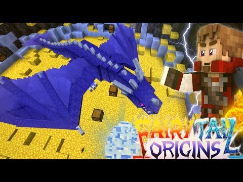 "Minecraft FAIRY TAIL ORIGINS #10 ""ICE DRAGON SLAYER!"" (Minecraft Modded Roleplay) S3E10"