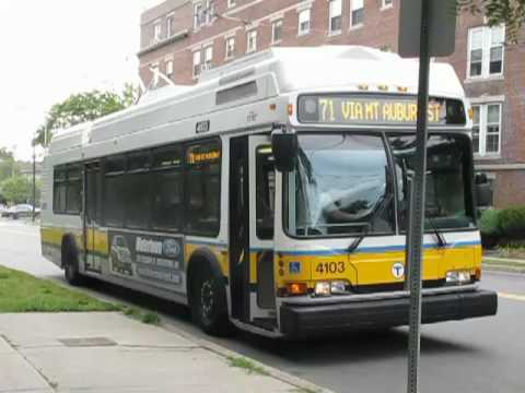 Massachusetts Bay Transportation Authority Trackless Trolley #4103