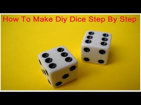 How To Make Dice Out Of Paper Very Easy