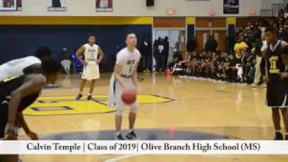 calvin temple   class of 2019   olive branch high school ms