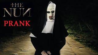 Монахиня. Жуткий пранк над другом  The Nun Scary Prank