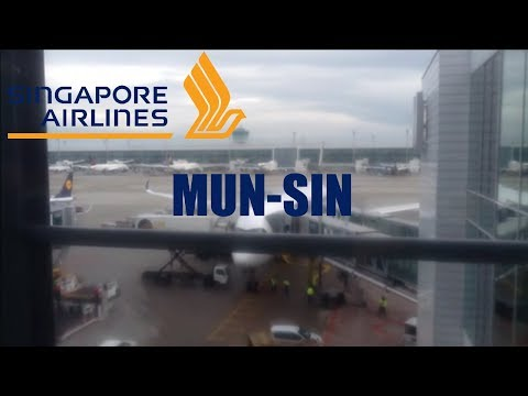[FLIGHT REPORT #2] Singapore Airlines A350-900 XWB Munich - Singapore *ECONOMY*
