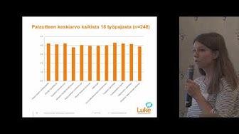 Työpajojen osallistujien näkemyksiä ilmastotiedonvälityksestä - Elina Nurmi, Luke