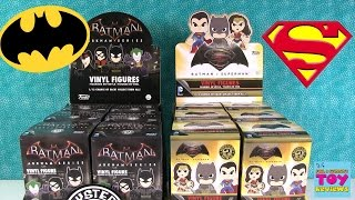 Batman vs Superman Arkham Funko Mystery Minis Full Case Unboxing | PSToyReviews