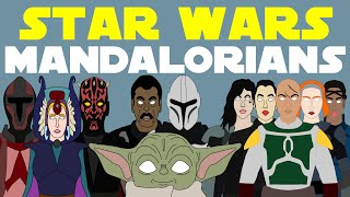 Star Wars Canon: Complete History of the Mandalorians