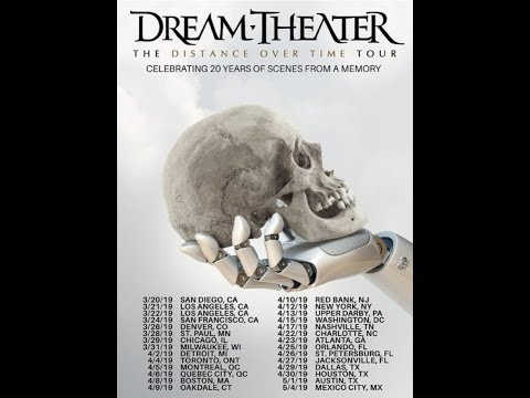 """DREAM THEATER new album """"Distance Over Time"""" announced + trailer + tour and artwork released"""