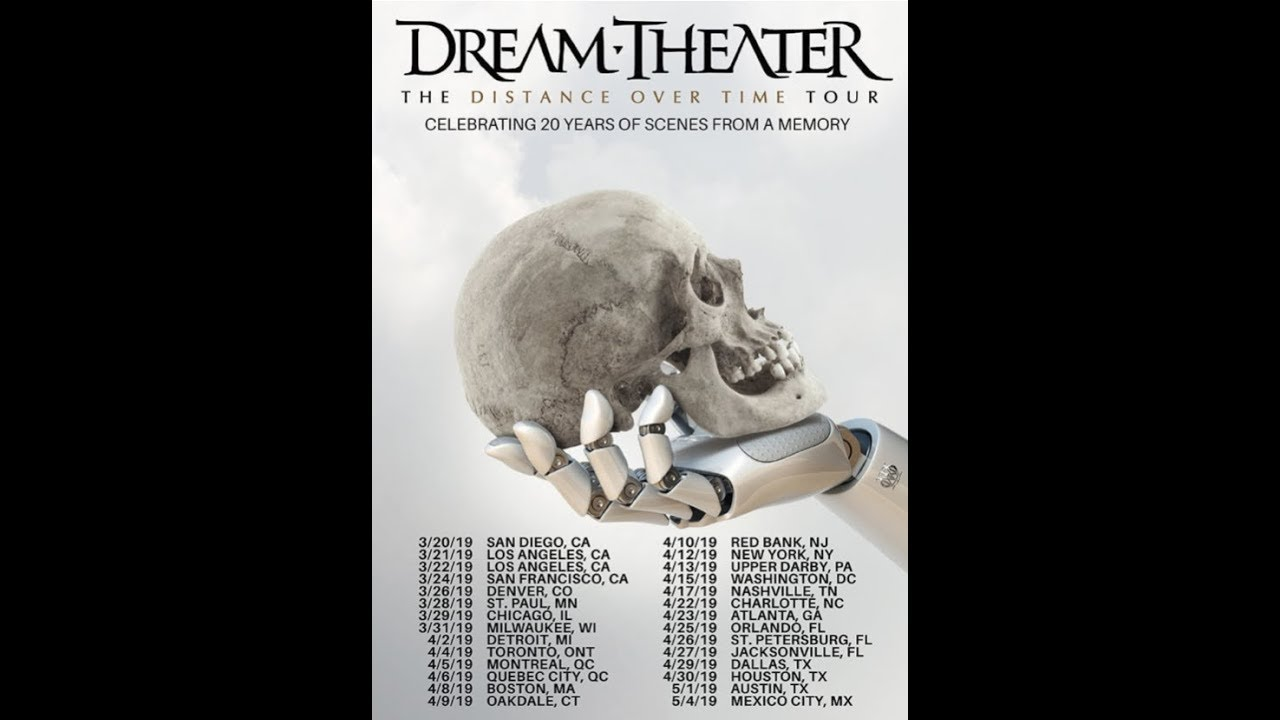 Dream Theater New Album Distance Over Time Announced Trailer