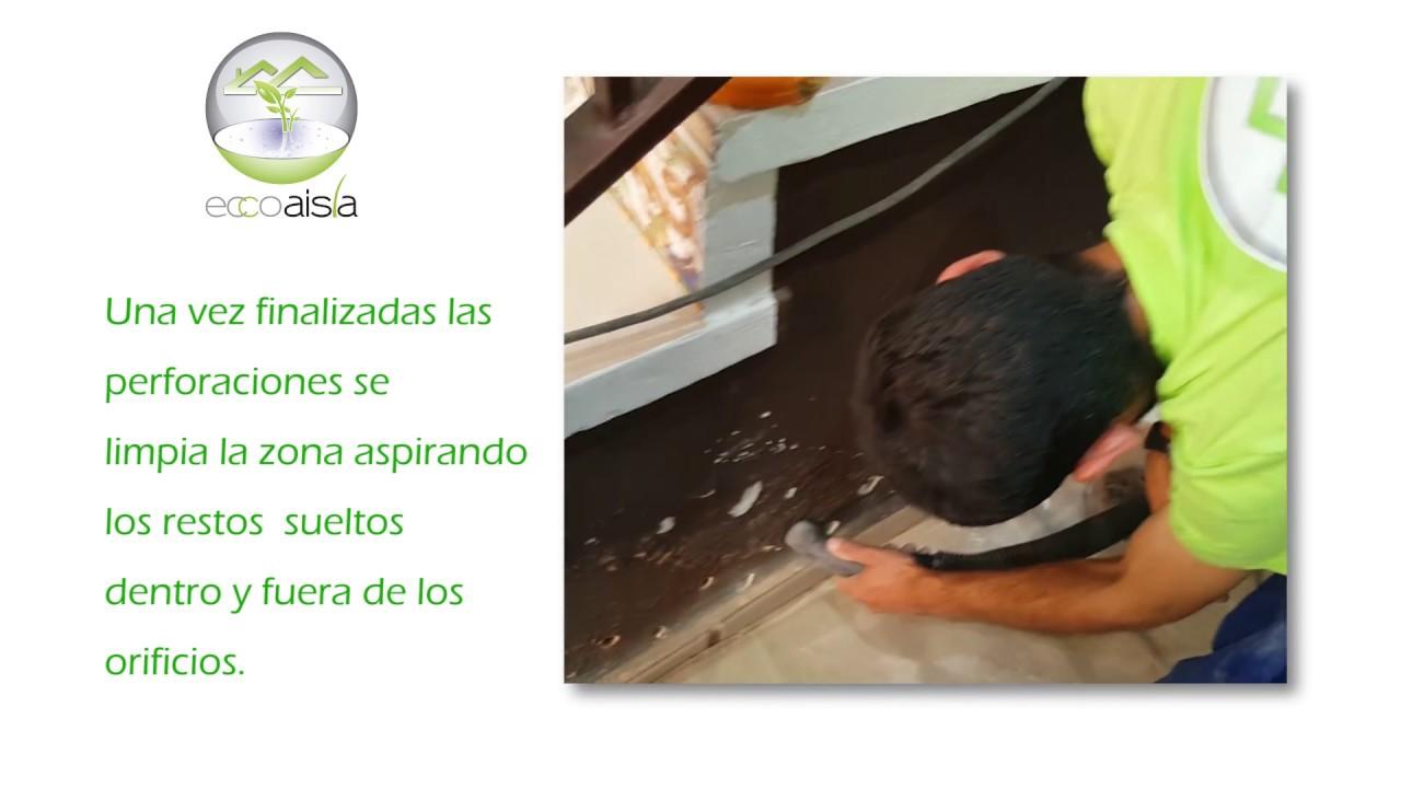 ECCOAISLA Aislamientos-Solución humedades por capilaridad