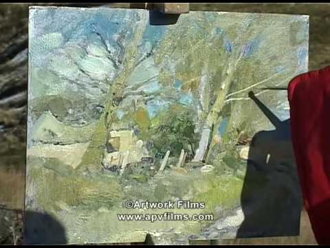 Capturing The Moment in Oils: David Curtis
