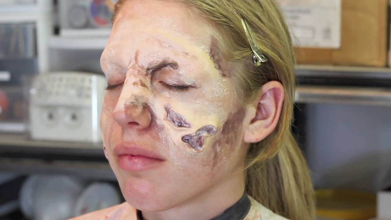 Zombie Special Effects Makeup Fx With Sloughing Skin Tutorial