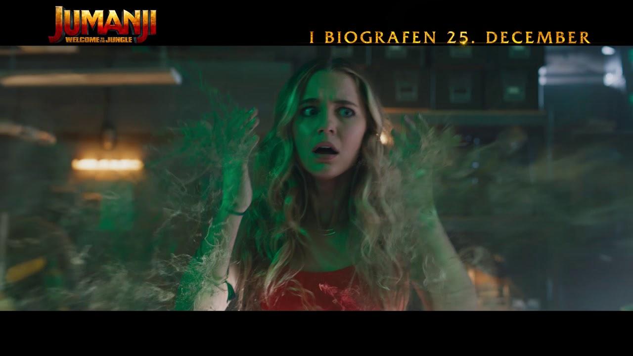 Jumanji - Welcome To The Jungle - Dansk trailer 2 - I biografen 25. december