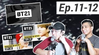 guys react to bts making of bt21 ep11 12