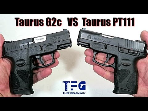 Taurus G2c vs Taurus PT111 - What are the Differences? - TheFireArmGuy
